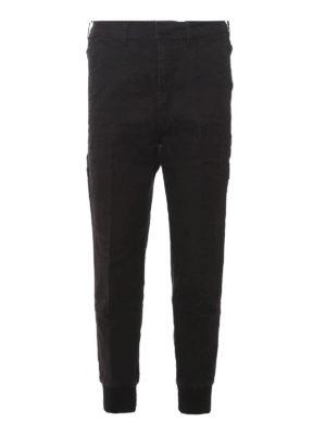 Neil Barrett: straight leg jeans - Elasticated cuffs jeans