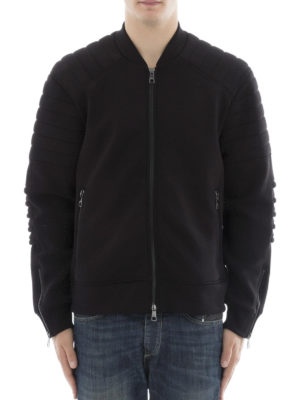 Neil Barrett: Sweatshirts & Sweaters online - Padded sleeves cotton sweatshirt