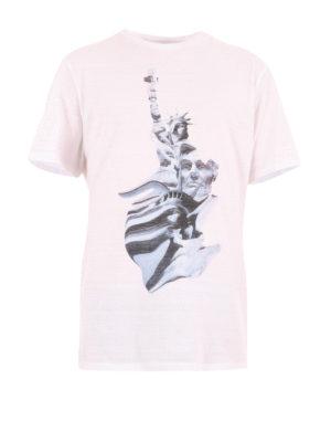 Neil Barrett: t-shirts - Liberty Presidents print T-shirt