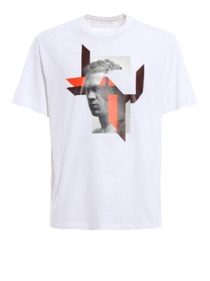 Neil Barrett: t-shirts - Modernist Steve McQueen T-shirt