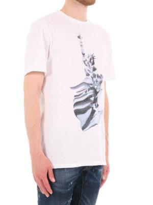 Neil Barrett: t-shirts online - Liberty Presidents print T-shirt
