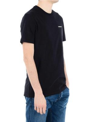 Neil Barrett: t-shirts online - Rear lightning bolt jersey T-shirt