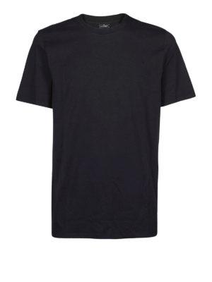 NEIL BARRETT: t-shirt - T-shirt in cotone con vestibilità regolare