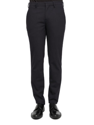 Neil Barrett: Tailored & Formal trousers online - Wool blend formal trousers