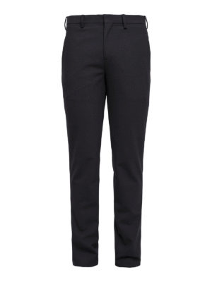 Neil Barrett: Tailored & Formal trousers - Wool blend formal trousers