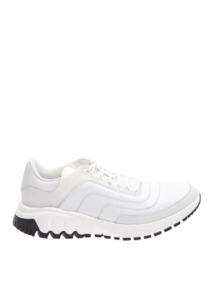 Neil Barrett: trainers - Leather and mesh sneakers
