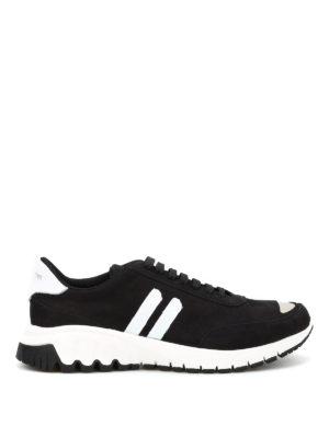 Neil Barrett: trainers - Modernist Runner leather snekers