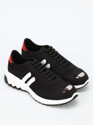 Neil Barrett: trainers online - Modernist Runner leather snekers