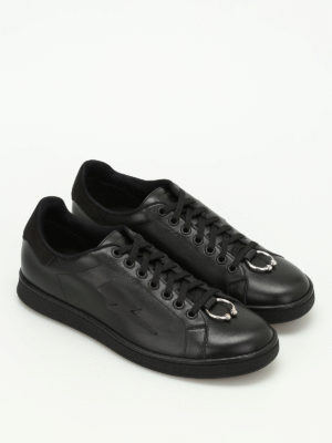 Neil Barrett: trainers online - Punk pierced sneakers