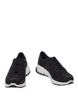 Neil Barrett: trainers online - Suede running sneakers