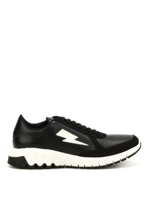 Neil Barrett: trainers - Urban Runner sneaker