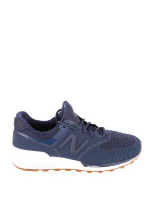 NEW BALANCE: sneakers - Sneaker 574 Sport blu