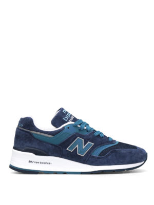 New Balance: trainers - 997 suede low top trainers
