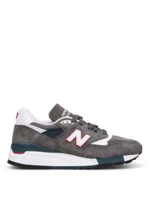 New Balance: trainers - 998 suede low top trainers