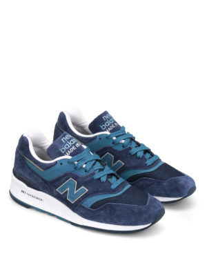 New Balance: trainers online - 997 suede low top trainers