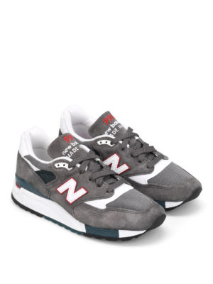 New Balance: trainers online - 998 suede low top trainers