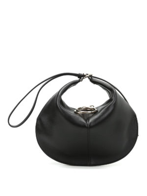 Nina Ricci: clutches - Kuti wrist strap leather small bag