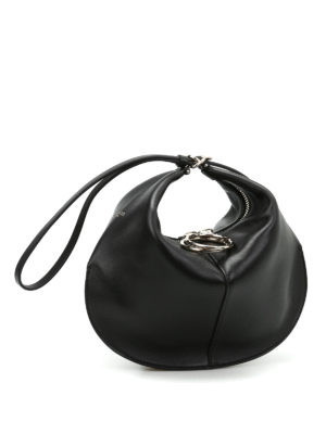 Nina Ricci: clutches online - Kuti wrist strap leather small bag