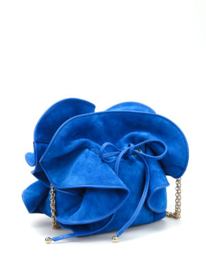Nina Ricci: cross body bags online - Lily suede bag