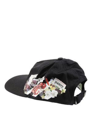 Off-White: hats & caps online - Virgil Abloh™ print baseball hat
