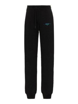 OFF-WHITE: pantaloni sport - Pantaloni jogging Gradient