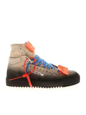 OFF-WHITE: trainers - Fabric and leather sneakers