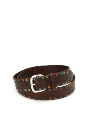 Orciani: belts - Afrika leather belt