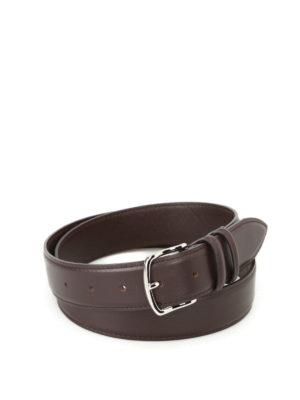 Orciani: belts - Bali dark brown leather belt