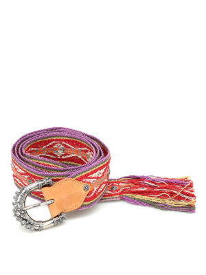 Orciani: belts - Ethnic Soul belt