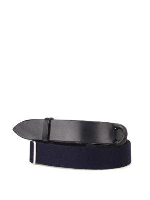 Orciani: belts - Nobuckle blue belt