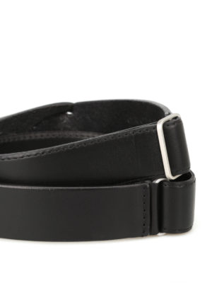Orciani: belts online - Bull leather belt without buckle