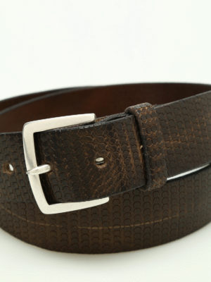 Orciani: belts online - Hive leather belt