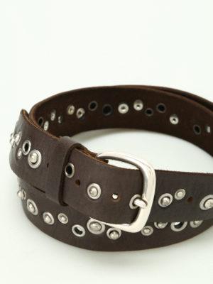Orciani: belts online - Hunting Up studded belt
