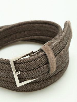 Orciani: belts online - Rope Elast belt