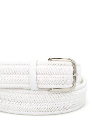 Orciani: belts online - Rope Elast linen belt