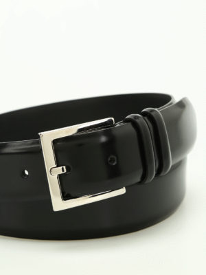 Orciani: belts online - Toledo brushed leather belt