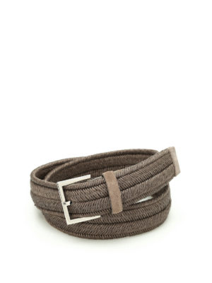 Orciani: belts - Rope Elast belt