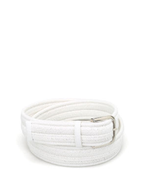 Orciani: belts - Rope Elast linen belt