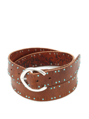 Orciani: belts - Stain cabochon belt