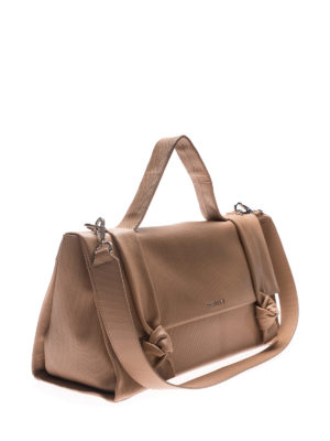 Orciani: bowling bags online - Bella leather handbag