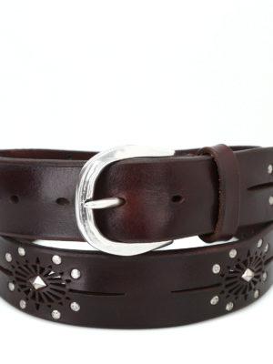 ORCIANI: cinture online - Cintura testa di moro Bull Soft