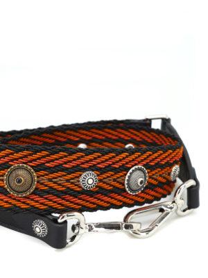 ORCIANI: borse a spalla online - Tracolla Bone color ocra