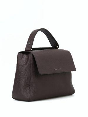 ORCIANI: borse a spalla online - Borsa Sveva Soft media color testa di moro