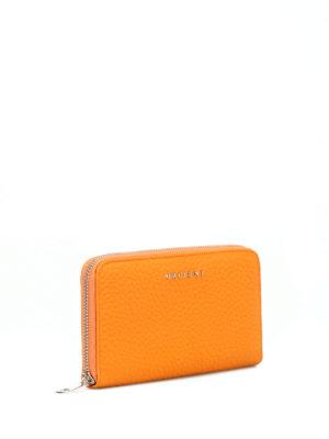 ORCIANI: portafogli online - Portafoglio in pelle Soft color senape