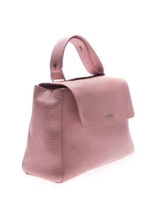 Orciani: shoulder bags online - Sveva Soft M leather bag