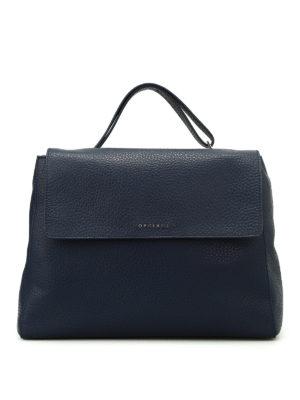 Orciani: shoulder bags - Sveva Soft leather bag