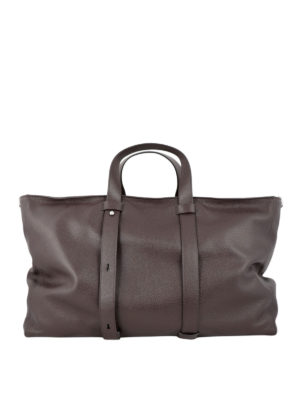 ORCIANI: totes bags - Artik Micron leather travel bag