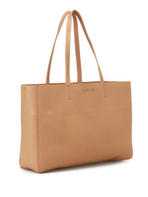Orciani: totes bags online - Soft hammered leather E/W tote bag