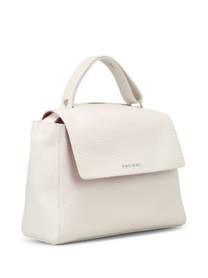Orciani: totes bags online - Sveva Soft white and pink bag