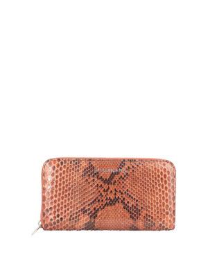 ORCIANI: wallets & purses - Diamond python print wallet